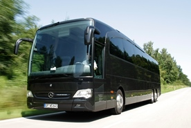Ergänzung zum Limousinenservice:  Busse in unterschiedlichen Größen