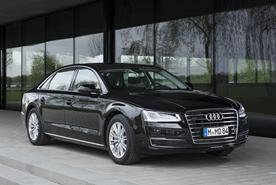 Chauffeurservice mit Stil:  Audi A8 L