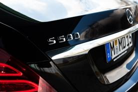 Selbstverständlich bereits das neue Modell: Mercedes-Benz S500 L 4-matic