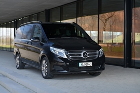Comfort for small groups: Mercedes-Benz V-Class