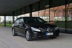 Affordable limousine services:  Mercedes E-Class