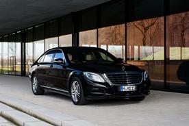 Top line luxury VIP limousine:Mercedes-Benz S500 L 4-matic